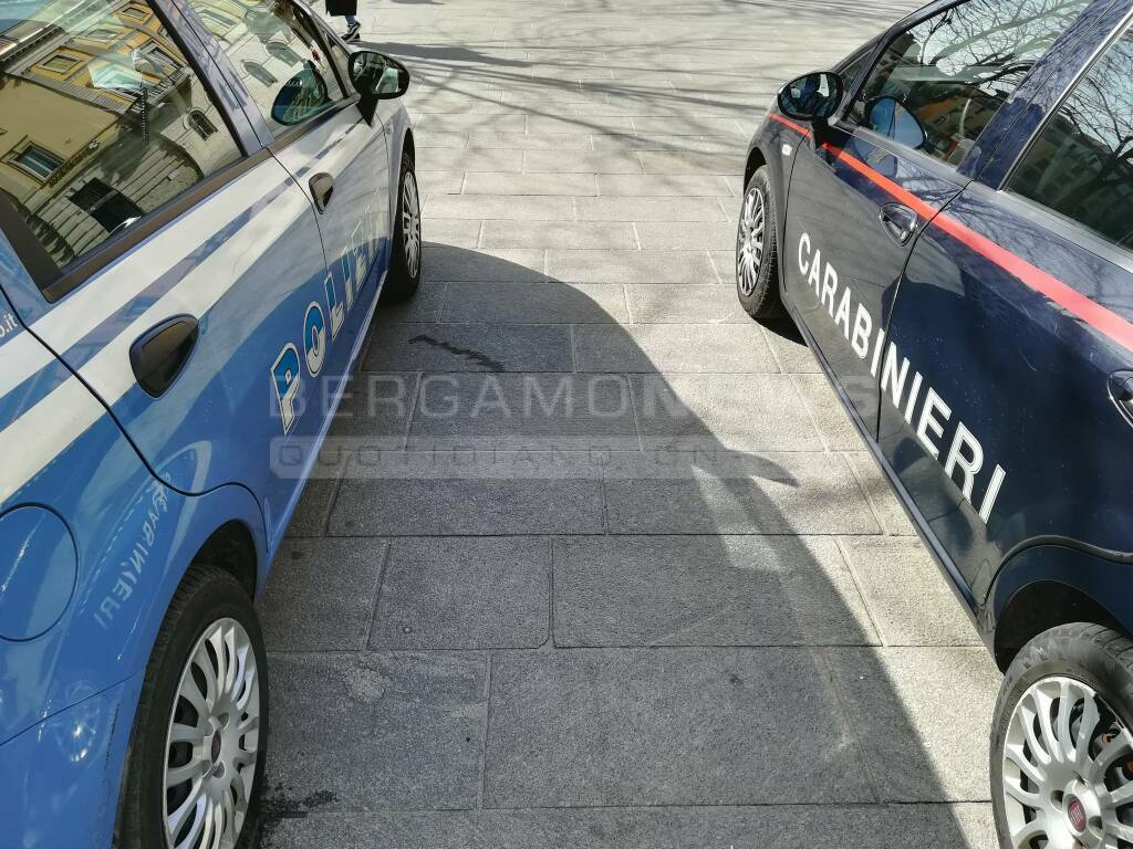 Polizia e carabinieri insieme