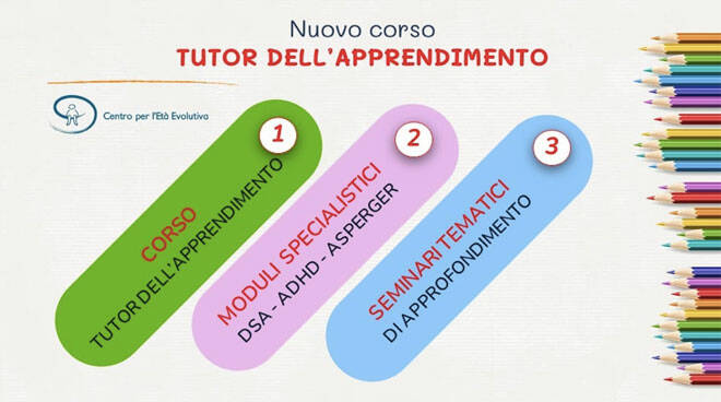 Corso per diventare tutor dell'apprendimento: ecco il programma