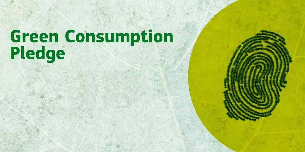 Green Consumption Pledge