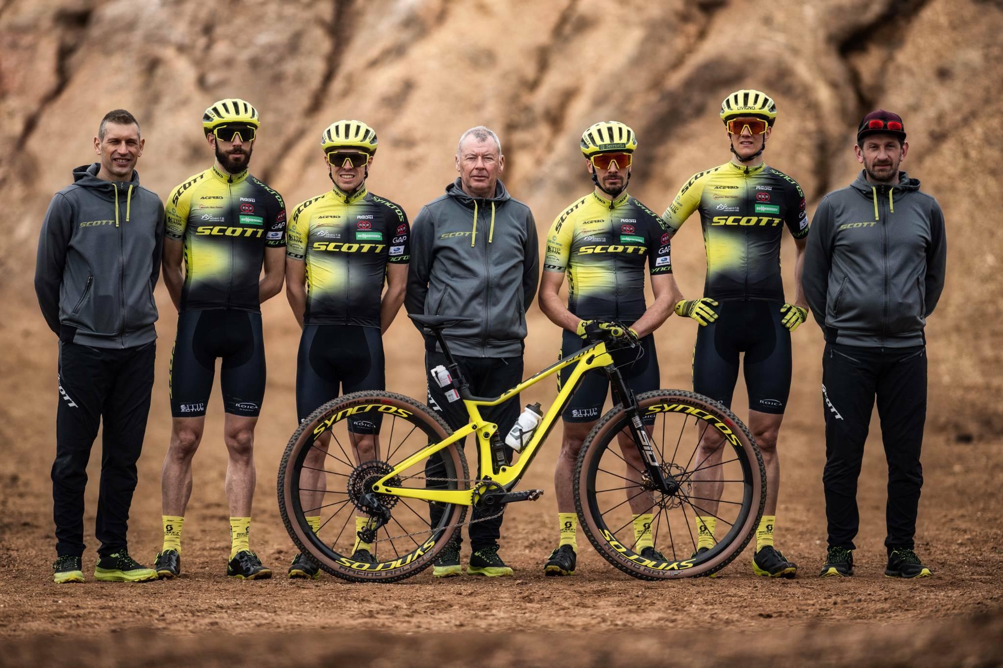I ragazzi dello SCOTT Racing Team pronti a tante nuove sfide