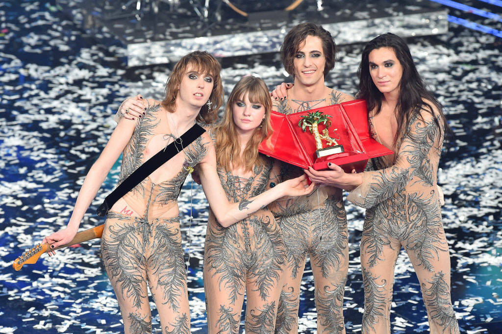 maneskin sanremo 2021 (Getty Images)
