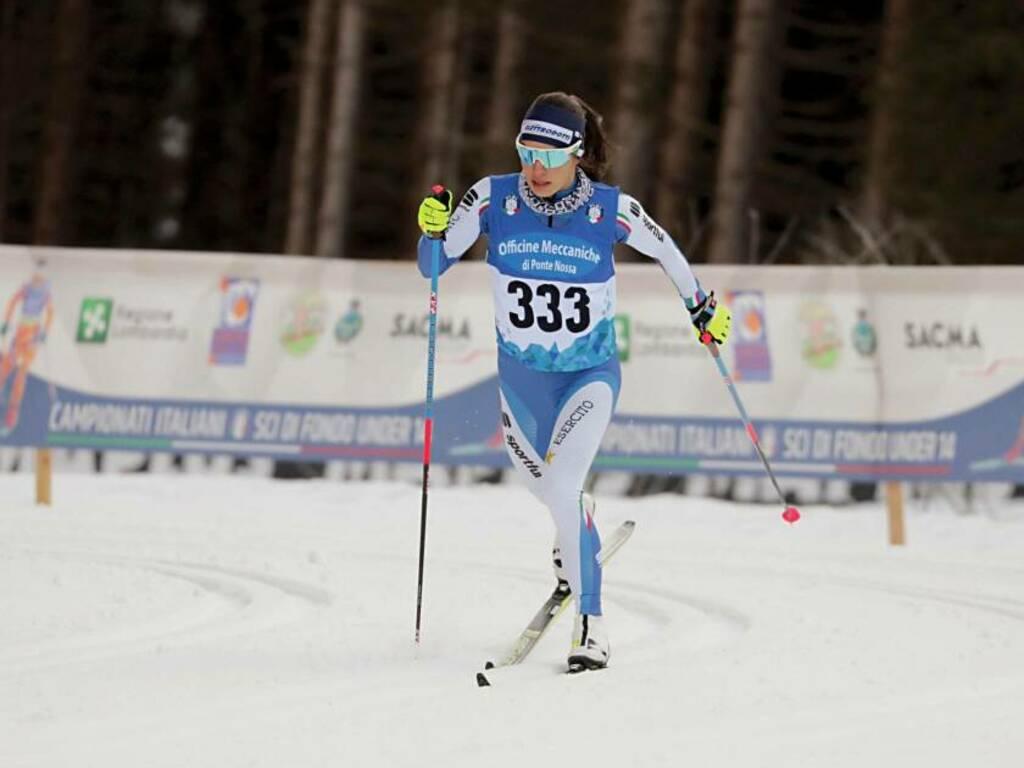 Martina Bellini - Coppa Italia Sci di Fondo 2021