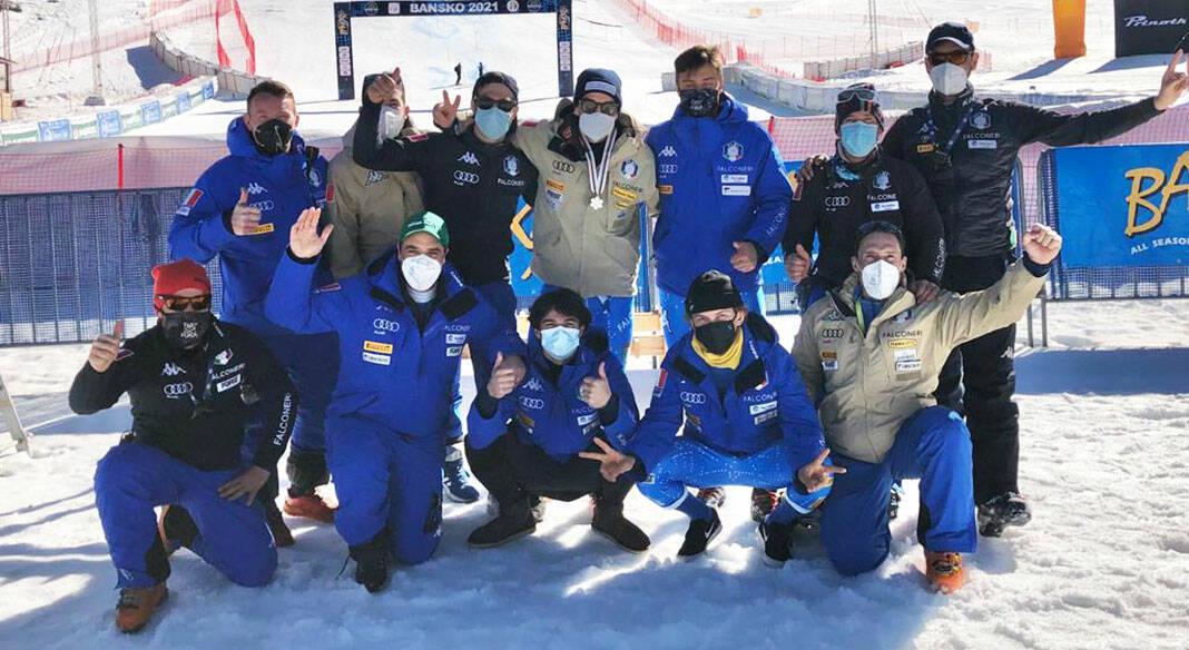 Matteo Bendotti e Filippo Della Vite - Mondiali Juniores Sci Alpino 2021