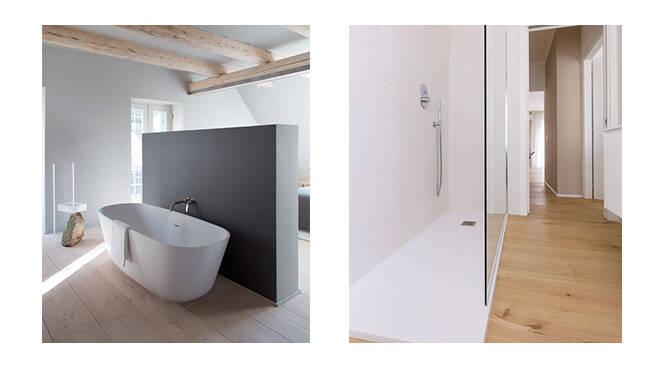 Sfatiamo un mito: Il parquet nel bagno? Fidati, puoi usarlo