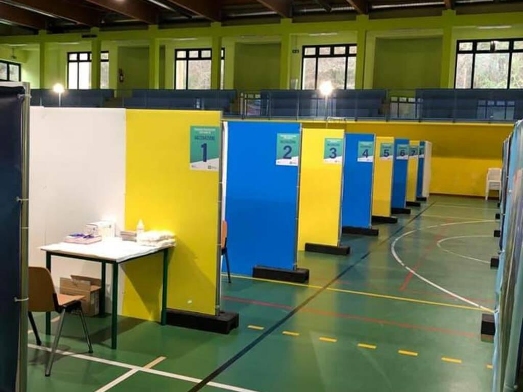 centro vaccini Sant'Omobono