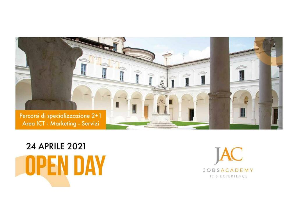 L'open day di JobsAcademy svela un'alternativa al classico percorso universitario