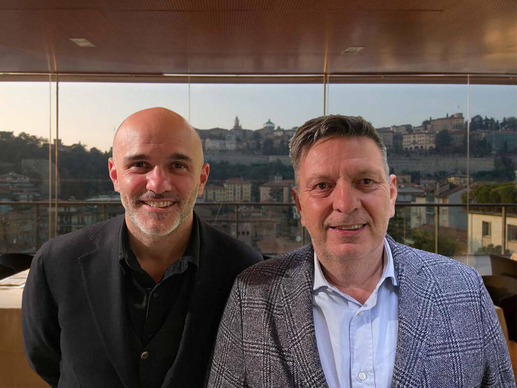 Luca Percassi e Maurizio Radici