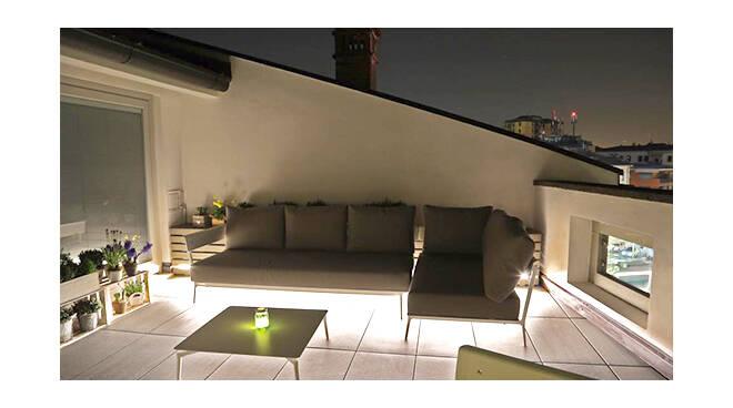 Outdoor: la terrazza di Laboratorio Italiano Design