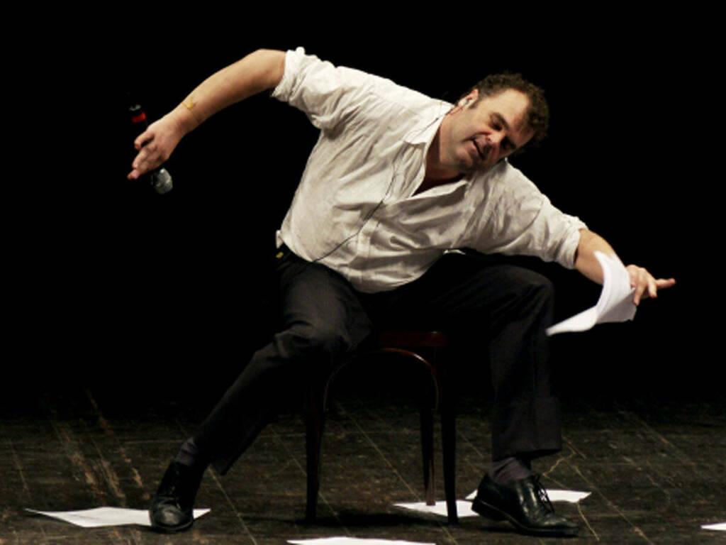Pippo Delbono (comunicato Teatro donizetti)