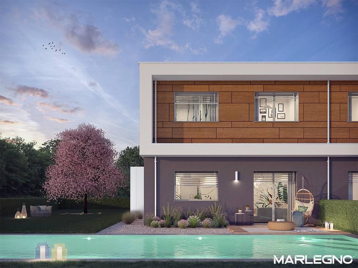 Residenza Magnolia, ville per un abitare sostenibile