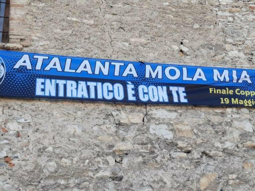 Atalanta, striscioni sui Comuni della bergamasca