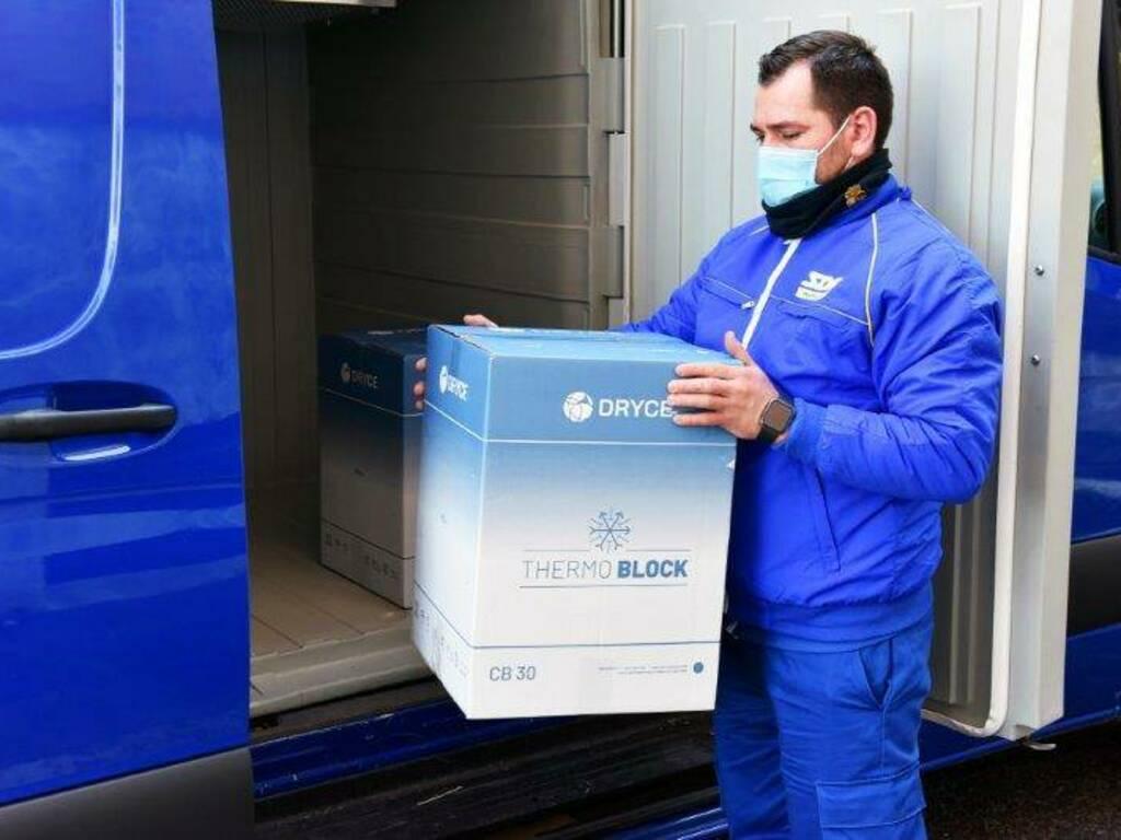 consegna vaccini anti covid