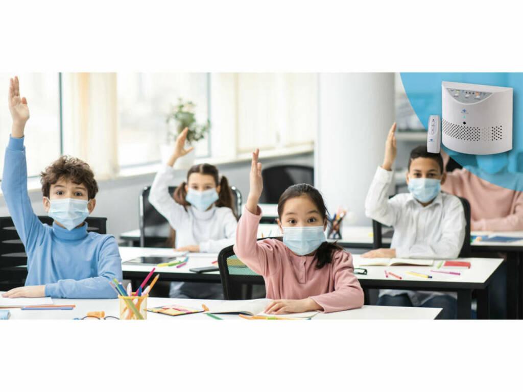 Covid nella scuole: ecco i dispositivi che proteggono in modo efficace dai contagi