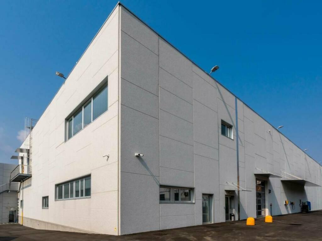 GSR Cocoa Machinery, le facciate di Magnetti Building