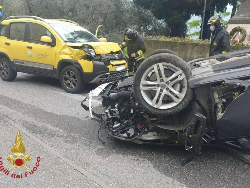 Incidente stradale a Predore