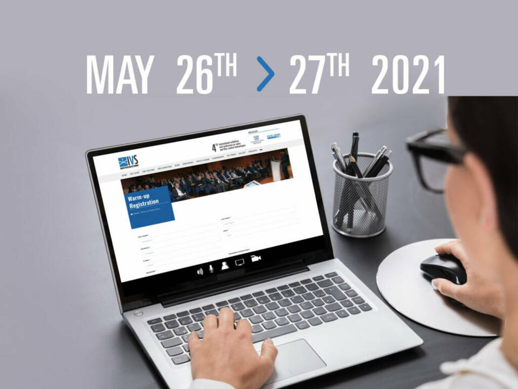 IVS warm-up: on-line technical conference May 26th-27th 2021
