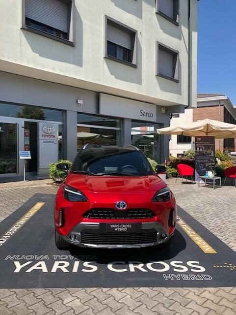 Nuova Yaris Cross Hybrid: aperte le prenotazioni