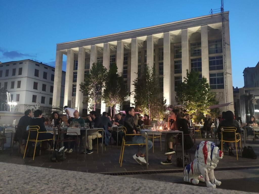 Piazza della Libertà - dehors