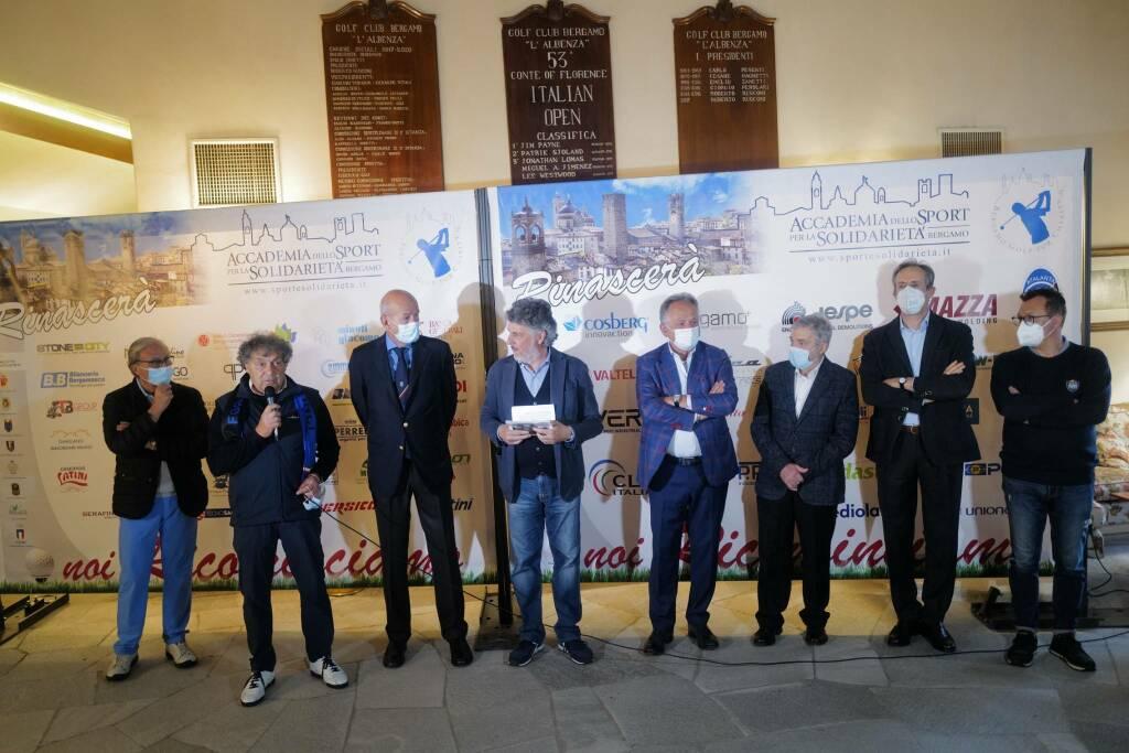 """Oltre 100 giocatori al """"Bergamo Golf for Charity"""""""