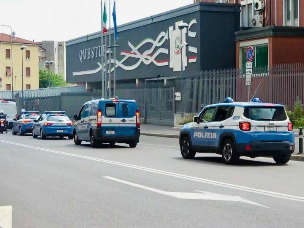Polizia questura di Bergamo