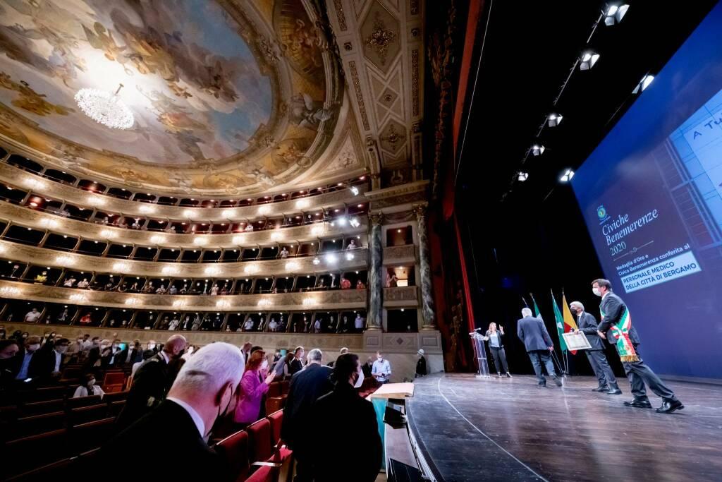 Benemerenze civiche 2020 - teatro Donizetti