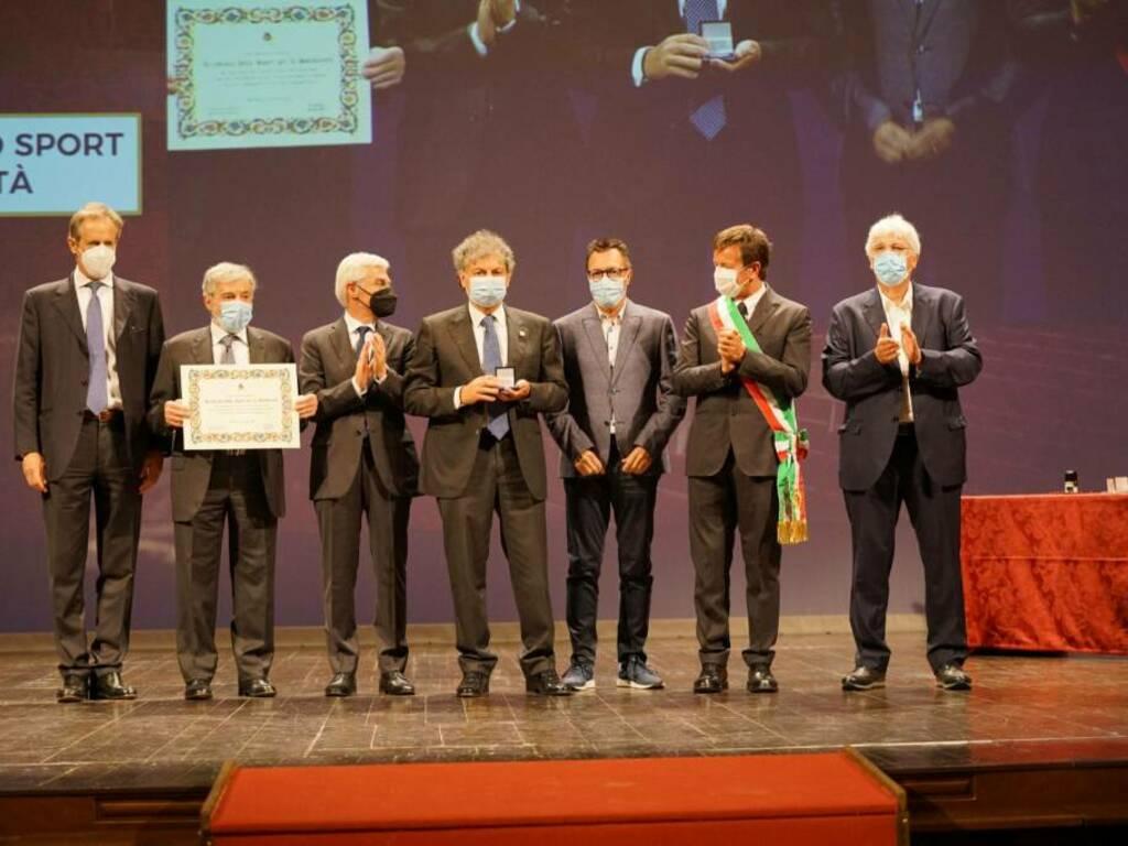 Civiche Benemerenze, il Comune di Bergamo premia l'Accademia dello Sport per la Solidarietà