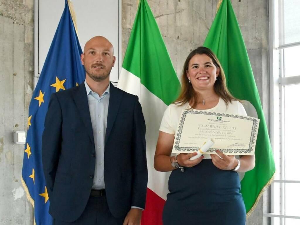 Claudia Cretti Regione