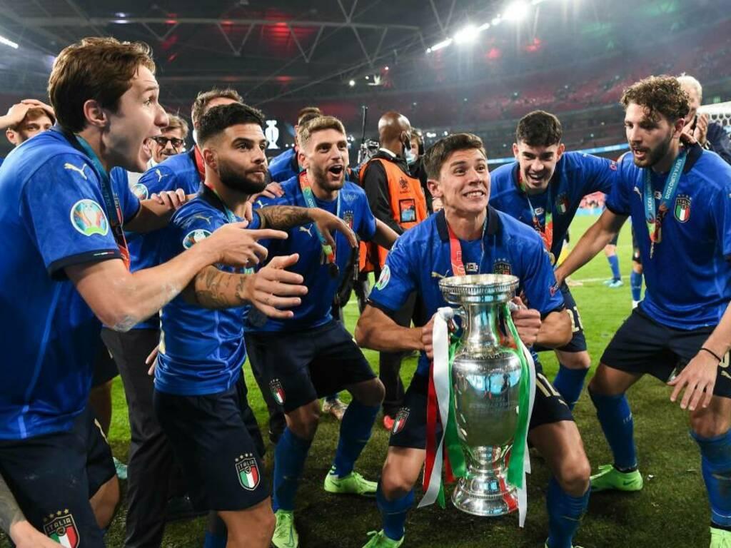 Italia campione d'Europa: la festa Azzurra a Wembley