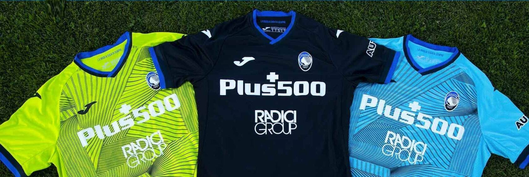 Atalanta, svelate le maglie per la stagione 2021-2022: la terza è ...