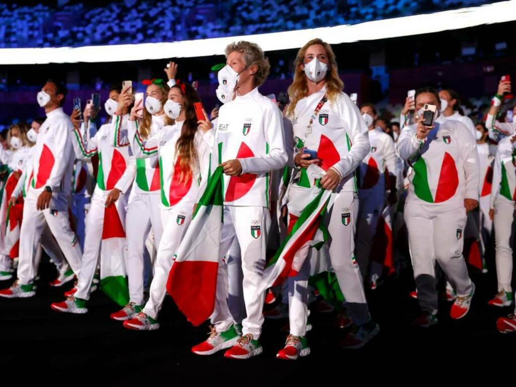 olimpiadi 2021 cerimonia inaugurale (Getty Images)