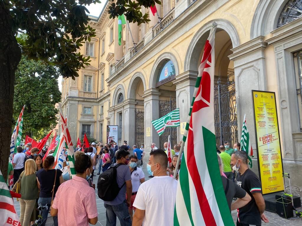 Sciopero e protesta dei lavoratori del Gruppo Boost
