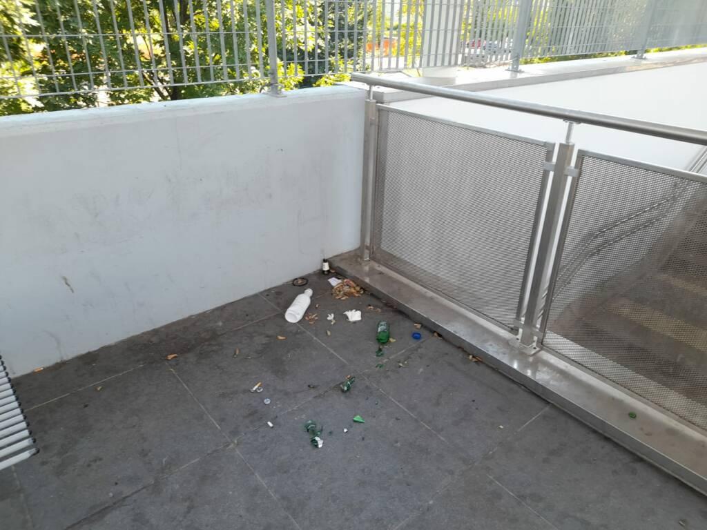 Stazione di Seriate degrado