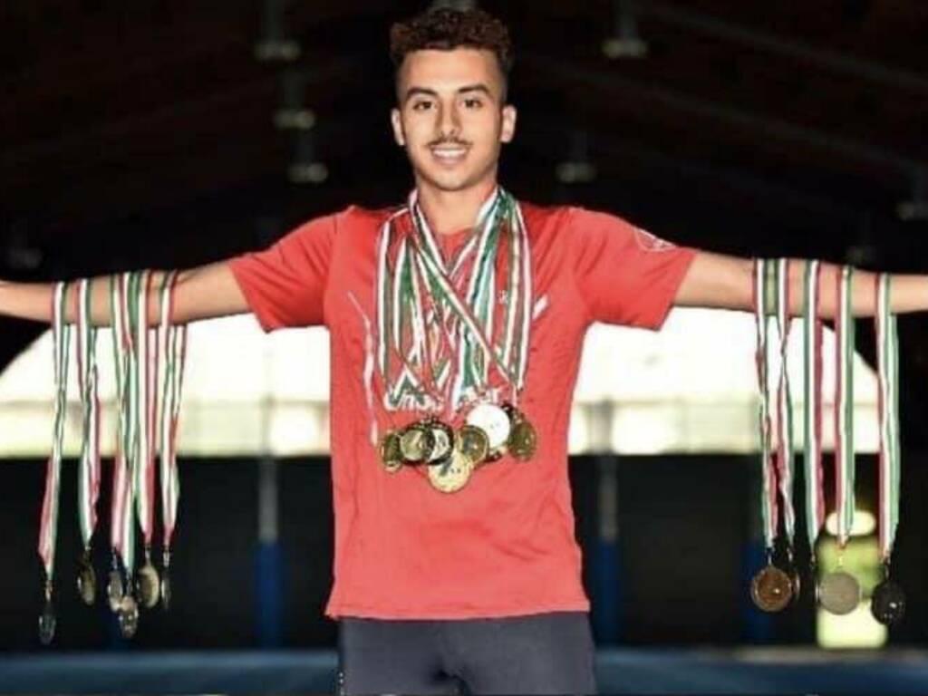 Abdelhakim Elliasmine (dalla pagina Facebook dell'Atletica Bergamasca)