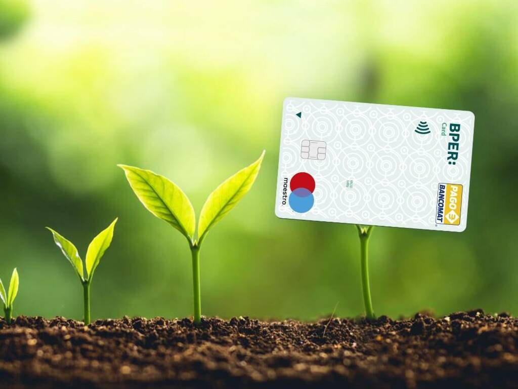 Bper Card green