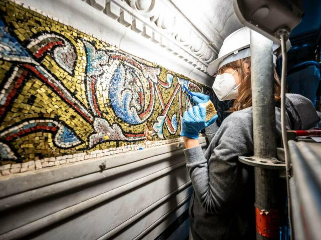 Mosaici del battistero di Firenze