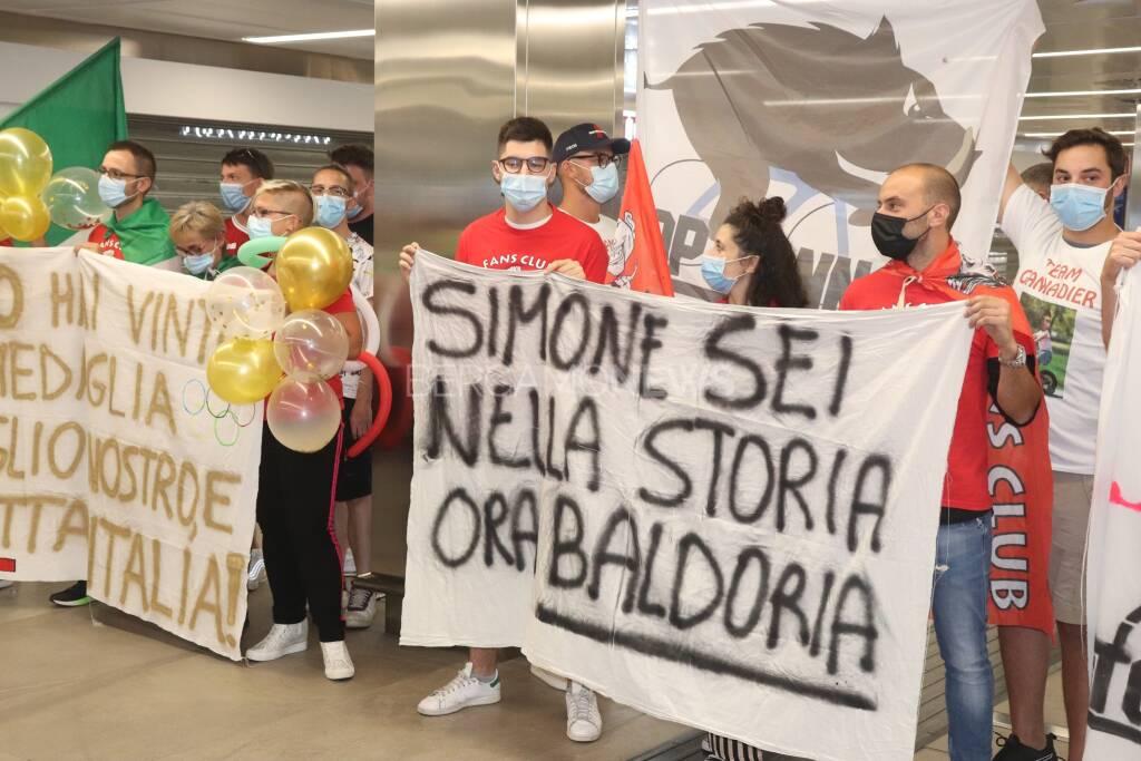 Simone Consonni rientro Olimpiadi