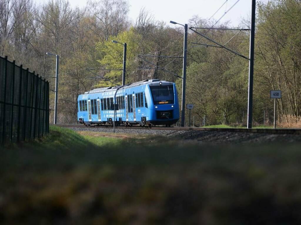 treno ad idrogeno gettyimages