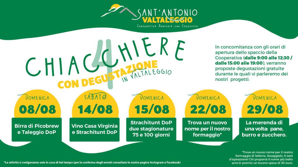 Formaggi, birra, vino: cinque incontri degustazione alla Cooperativa Sant'Antonio