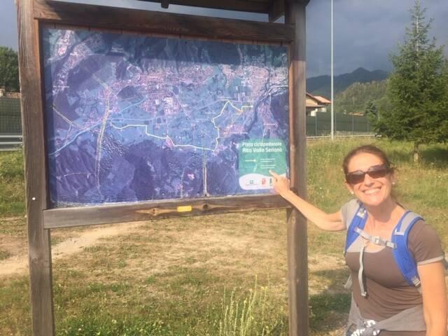 """""""A piedi da Bergamo a Clusone, 9 ore di paesaggi mozzafiato in riva al Serio"""""""