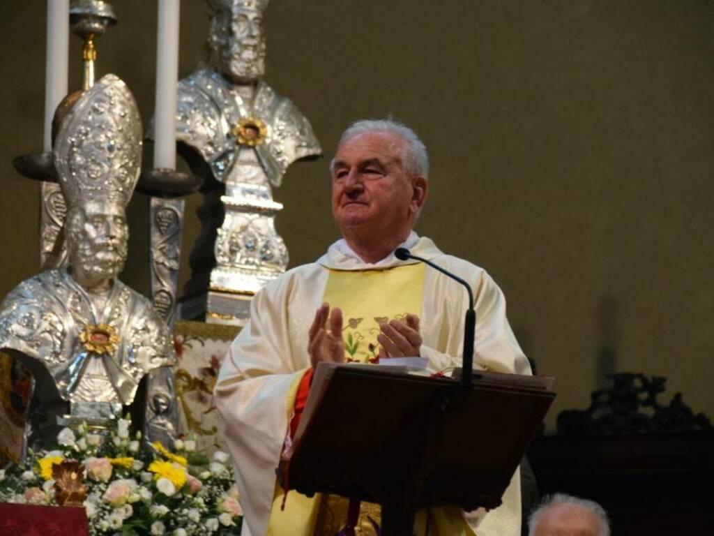 Almè saluta monsignor Mansueto Callioni