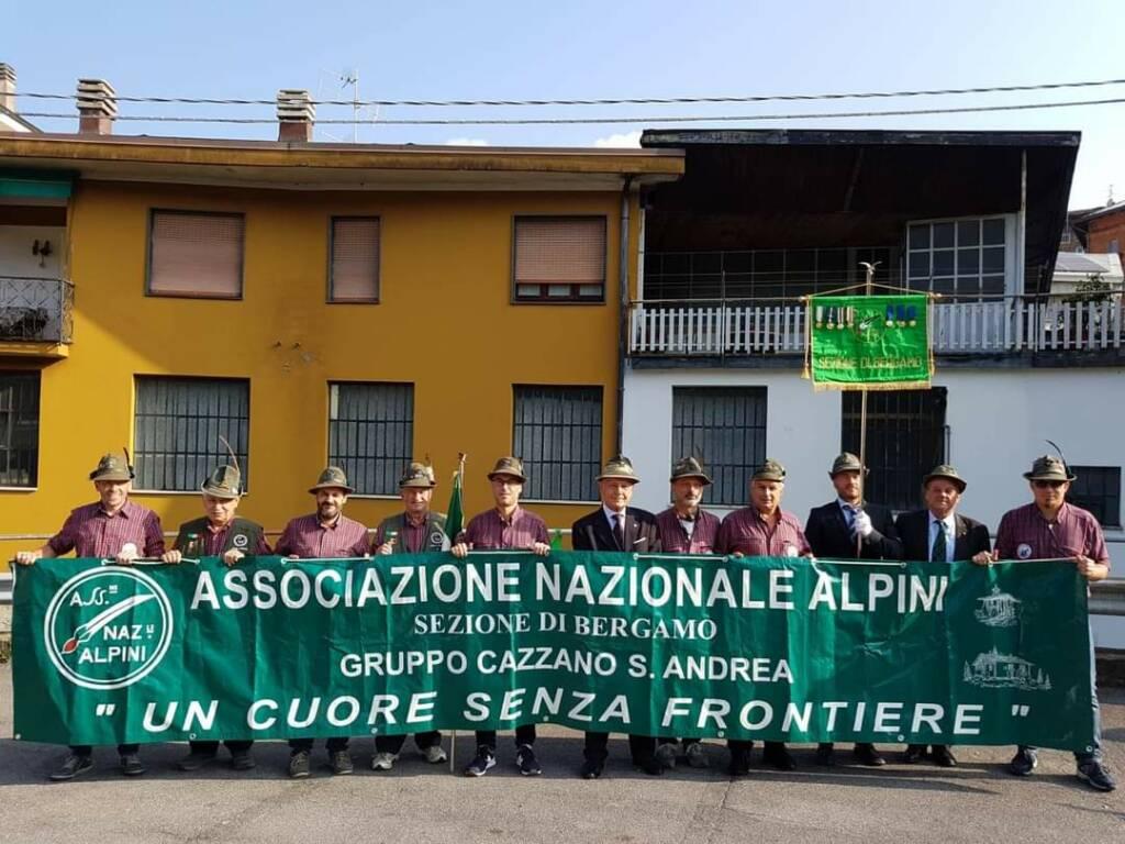 Gli alpini di Bergamo piangono il loro presidente Antonio Sarti