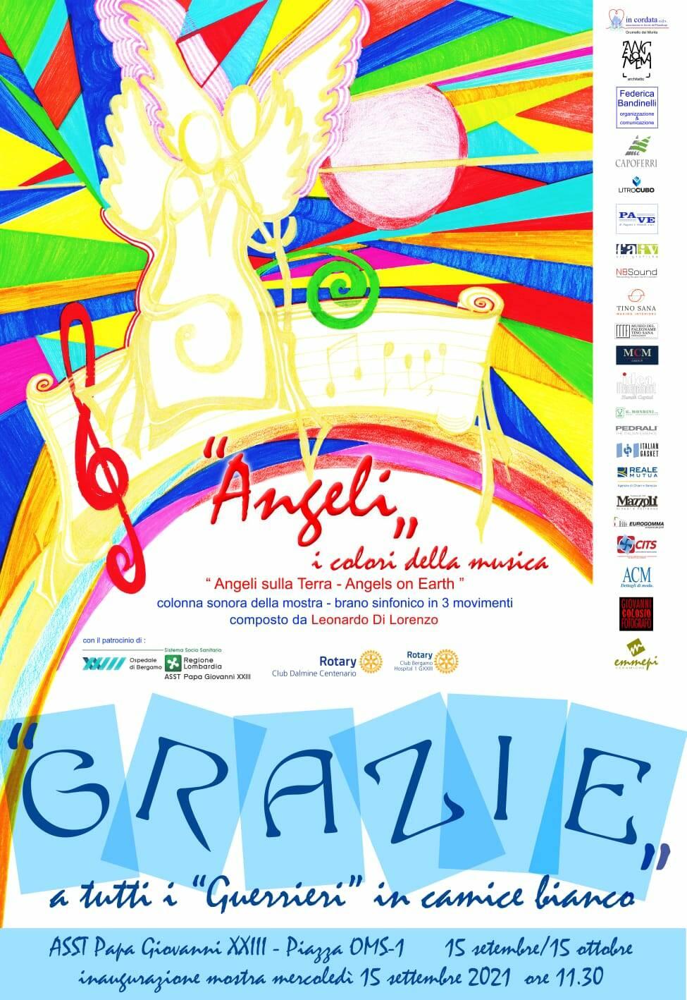 angeli, i colori della musica