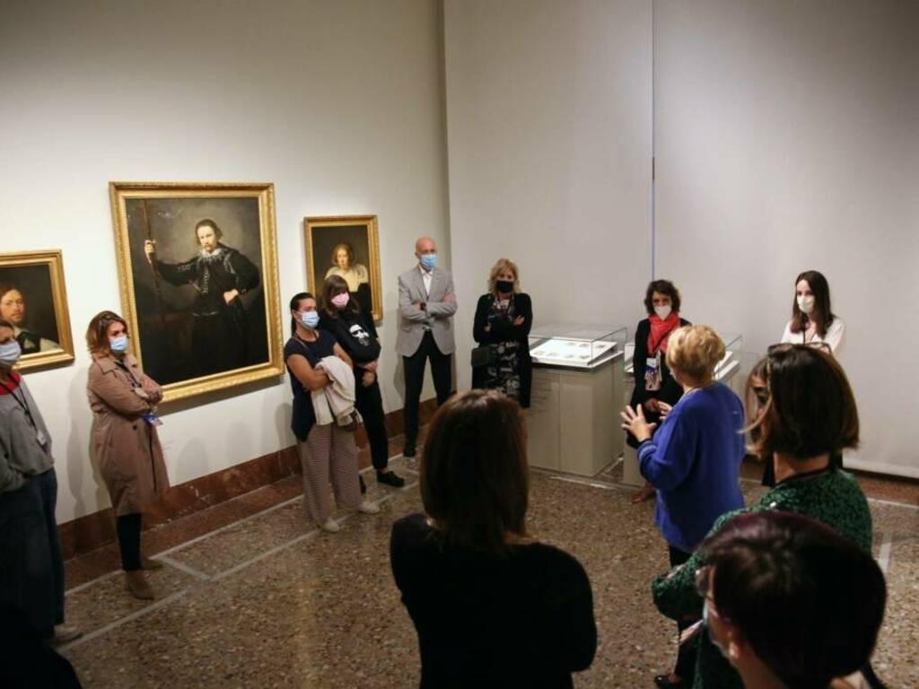 Bergamonews Friends! alla mostra Rembrandt all'Accademia Carrara