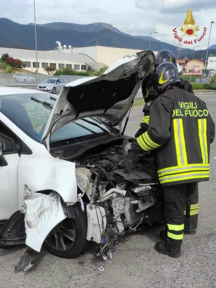 Grave incidente stradale a Cenate Sotto