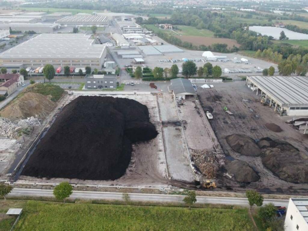 Impianto di compostaggio Calcinate