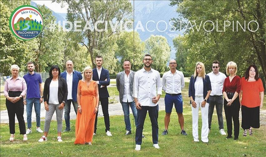 Nicola Facchinetti candidato Costa Volpino