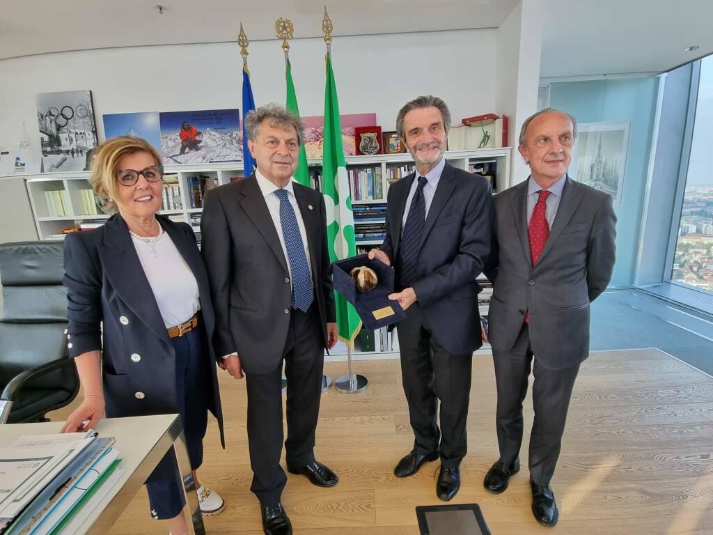 """""""Rosa Camuna"""" a Giovanni Licini, da Regione Lombardia un premio a lui e a tutta l'Accademia"""