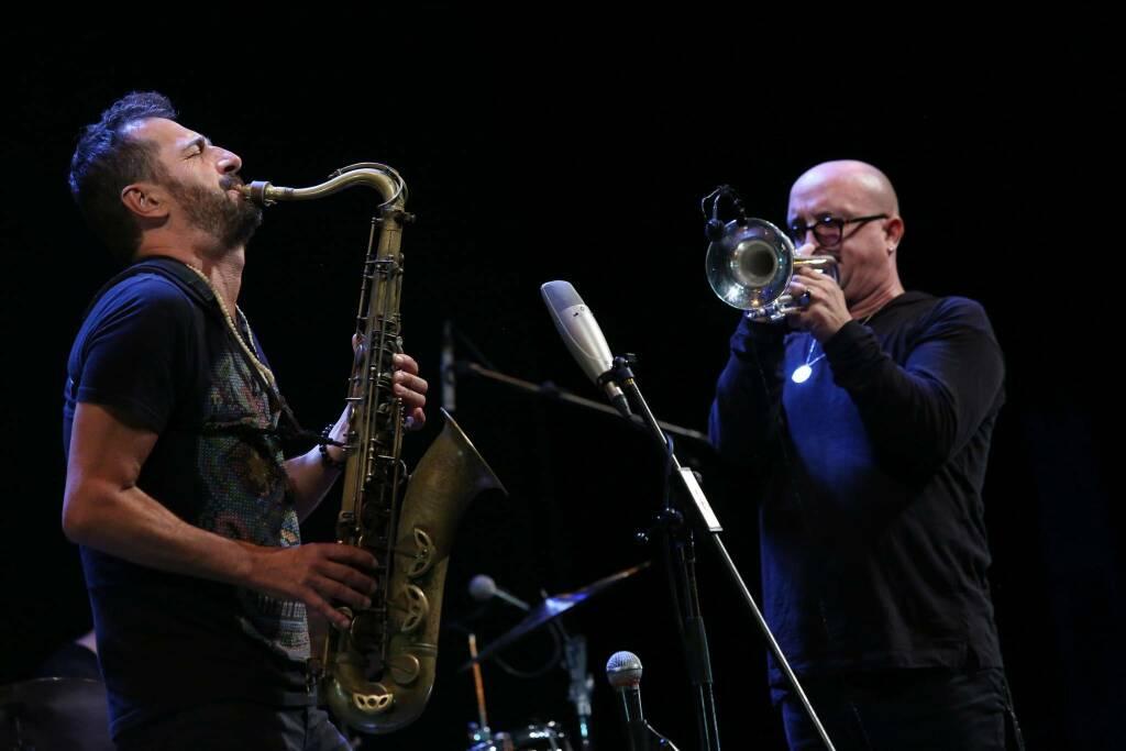 Tinissima Quartet Bergamo Jazz 2021 (Foto Rossetti)