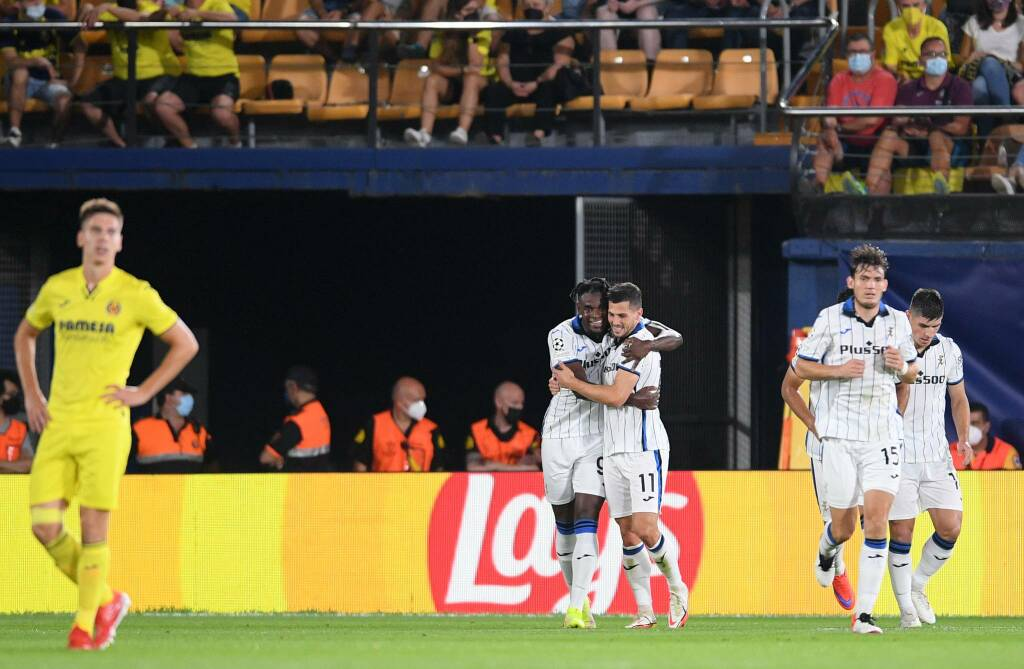 Villarreal-Atalanta, il film della partita