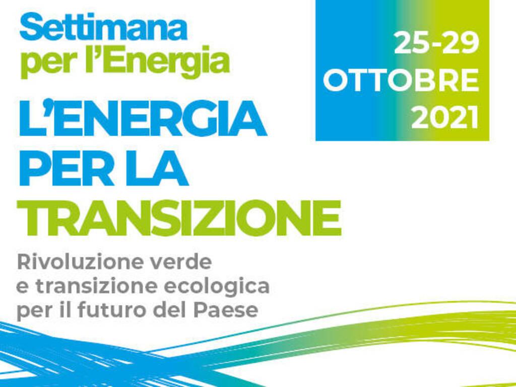 """Green economy e sostenibilità: al via la """"Settimana per l'energia"""""""